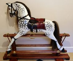 Making a fully-carved Victorian-style Rocking Horse