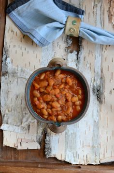 Nice and hearty - A Wintery Balkan Cannellini Stew Comfort