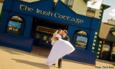 The Irish Cottage - Galena Wedding - Galena Illinois Wedding Ceremony Reception and Rehearsal Pub Wedding, Chapel Wedding, Wedding Ceremony, Destination Wedding, Dream Wedding, Reception, Wedding Stuff, Irish Wedding Traditions, Galena Illinois