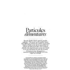 Iselin Steiro by Tyen for Vogue Paris June/July 2010 ❤ liked on Polyvore featuring text, words, magazine, backgrounds, articles, quotes, fillers, embellishment, detail and phrase