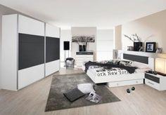 Schlafzimmer mit Bett 180 x 200 cm alpinweiss/ grau-metallic Jetzt bestellen unter: https://moebel.ladendirekt.de/schlafzimmer/komplett-schlafzimmer/?uid=e5cf7652-11b6-5023-9115-582309238e35&utm_source=pinterest&utm_medium=pin&utm_campaign=boards #komplettschlafzimmer #schlafzimmer