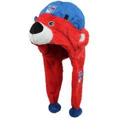 1b91e6ad22d357 New York Rangers Mascot Hat Gifts For Sports Fans, New York Rangers, Knit  Beanie. Football Fanatics