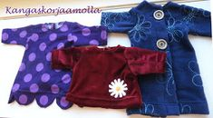 ompele nukenvaatteet Onesies, Kids, Clothes, Fashion, Young Children, Outfits, Moda, Boys, Clothing