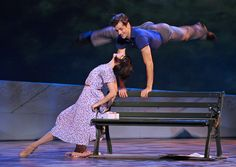 The stage version of the Hollywood classic An American in Paris combines British, French and American artistic traditions and stars Leanne Cope and Robert Fairchild in the roles made famous by Leslie Caron and Gene Kelly. Rent Musical, Musical Theatre, John Garcia, Oscar Best Picture, Leslie Caron, An American In Paris, Dancers Body, Broadway Nyc, Gene Kelly