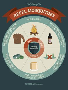 These Infographics Will Prevent Future Camping Mishaps