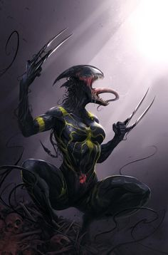 All-New Wolverine #18 cover by Francesco Mattina