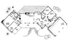 Discover house plans and blueprints crafted by renowned home plan designers/architects. Most floor plans offer free modification quotes. Bedroom Floor Plans, House Floor Plans, New Mexico Homes, Homestead House, Adobe House, Roof Detail, Story House, Old House Dreams, Plan Design