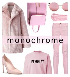 """Be Pink!!"" by keepfashion92 on Polyvore featuring Current/Elliott, Michael Kors, By Terry and Chicwish"