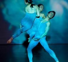 Choreographer Fran Spector Atkins and photographer Bill Roden have put together a dance production about the ocean, which is being performed at the Smithsonian National Museum of Natural History on June 3, 2012.