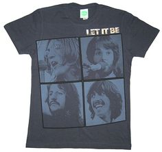 Beatles Let It Be Frames T-Shirt