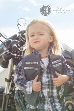 Jax Teller. Sons of Anarchy. Halloween costume. Not that I condone this show for kids but it's adorable