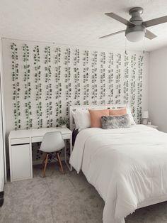 Room Design Bedroom, Room Ideas Bedroom, Small Room Bedroom, Bedroom Decor, Bedroom Inspo, Pinterest Room Decor, Teen Room Decor, Cozy Room, Stylish Bedroom