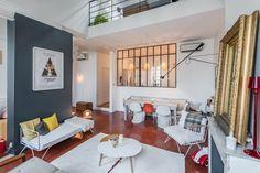 Agence Espace Atypiques Source : Une Hirondelle dans les tiroris decoration duplex_1