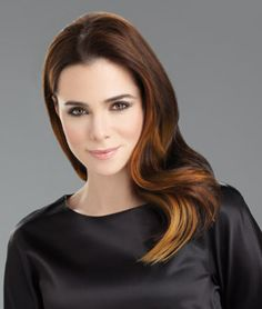Multi-level, 16in one piece clip-in extension that creates easy, fashionable style without the hassle of working with several individual wefts. Short hair transforms into luxurious below the shoulder length hair. Long hair becomes thick and full. Clip-in for color, length and volume.   Available in 6 Salon inspired ombre colors.