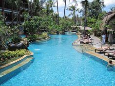 Bali Padma pool, I'd go swimming here any day!