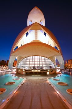 The Valencia Opera House (Queen Sofia Palace of the Arts) Spain by Eric Rousset