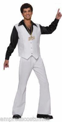 Disco Saturday Night Fever Mens Costume Theme Party