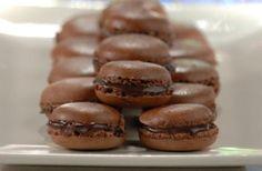 Receita de Macarons de Chocolate