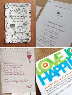 super cute wedding invites