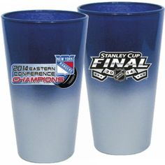 New York Rangers 2014 NHL Stanley Cup Finals Glass