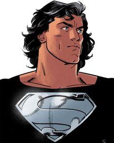 Serious Hair. Superman by Evan Doc Shaner