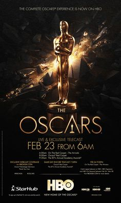 New Home of The Oscars on Behance Award Poster, New Poster, Banner Design Inspiration, Packaging Design Inspiration, Ad Design, Flyer Design, Graphic Design, Oscars, Event Poster Design