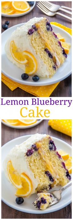Supremely moist and flavorful Lemon Blueberry Cake slathered with homemade Lemon Frosting. Perfect for Spring and Summer celebrations.