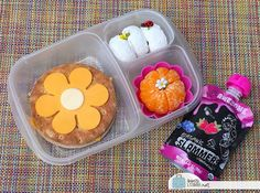 BentoLunch.net - What's for lunch at our house: Flower Power Bento Lunch