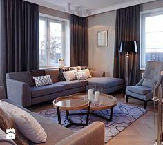 Dom na Targówku - Średni salon, styl klasyczny - zdjęcie od BBHome