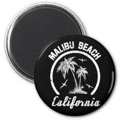 #Malibu Beach Magnet - #beach #travel #beachlife