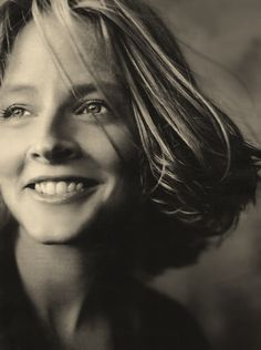 Mom, I know you are inside those blue eyes somewhere/And there are so many things that you won't understand tonight/ But this is the only important one to take in/ I love you I love you I love you  ~Jodie Foster
