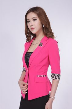 I love pink so that is one of my favourite blazers. Blazer Jackets For Women, Blazers For Women, Classy Women, Work Attire, Fashion Outfits, Womens Fashion, Pretty Outfits, African Fashion, Cute Dresses
