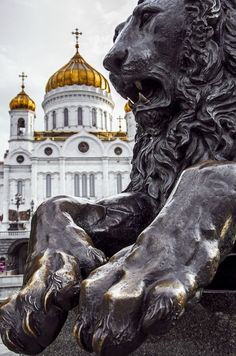 The Cathedral of Christ the Saviour.