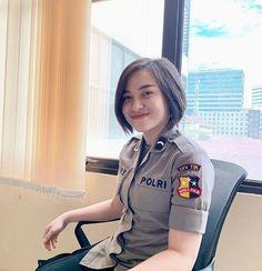 Army Police, Indonesian Girls, Keeping Healthy, Pilot, Sari, Coat, Instagram Posts, Model, Beauty