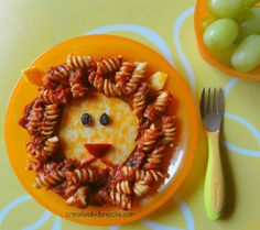 Playful and Yummy Disney Inspired Snacks - Lion King