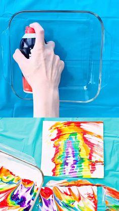 Rainbow Shaving Cream Marbled Art such a fun kids rainbow art project videos projects for kids Rainbow Shaving Cream Marbled Art Preschool Art Projects, Art Activities For Kids, Preschool Crafts, Projects For Kids, Diy Crafts For Kids, Art For Kids, Toddler Art Projects, Art Ideas For Teens, Science Crafts