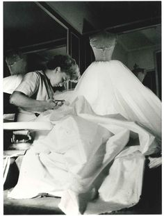 The Dior workshops, circa 1950. Discover more on www.dior.com  #love  #things  #style