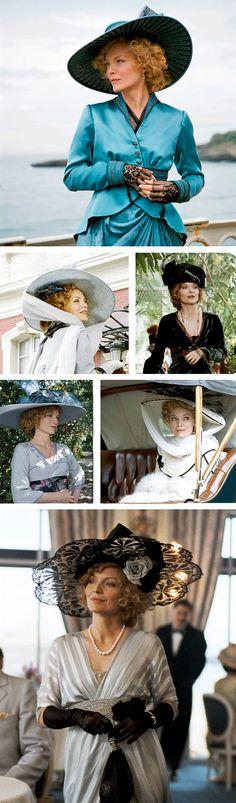 Michelle Pfeiffer as Léa de Lonval in CHERI. Film directed by Stephen Frears.
