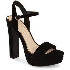 "Jessica Simpson 'Blaney' Platform Sandal, 5 1/4"" heel"