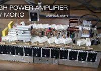 18 Best 500watts amplifier images in 2017 | Audio amplifier