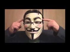 Anonymous! Join us now - Make this a better world!