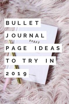Pin to save for later! The cleverest bullet journal ideas. Looking for bullet journal page ideas to get inspired in your weekly planning? Here you'll find a huge master list of bullet journal page ideas!
