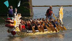 Dragon boat races, Rose Festival