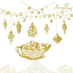 مبارك عليكم الشهر من #ألمياس #رمضان