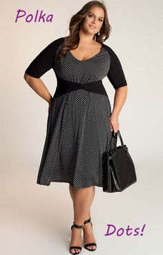 Comfortable femininity for every day. And dots!