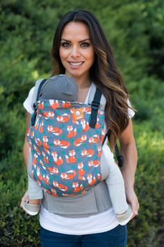Canvas - Tula Release 'Sly' TULA BABY CARRIER; Released 25 June 2015