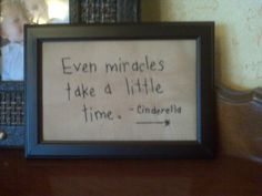 actually it was said by the fairy godmother :)