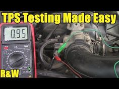 How to Test a Throttle Position Sensor (TPS) - With or Without a Wiring Diagram - YouTube