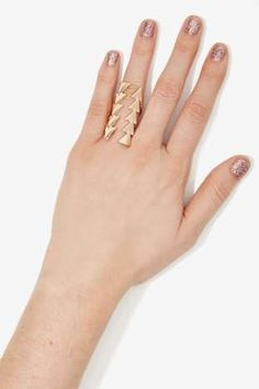 Straight Arrow Ring | Shop Accessories at Nasty Gal!