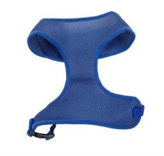 Coastal Pet Comfort Soft Adjustable Mesh Harness 3/8 Inch Blue * Click image to review more details. (This is an affiliate link and I receive a commission for the sales)